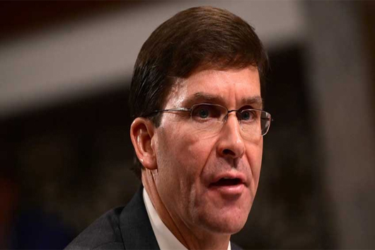Ratifican a Mark Esper como secretario de Defensa de EU